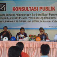 Resertifikasi PHPL Dan VLK Oleh PT.Rensa Global Trust